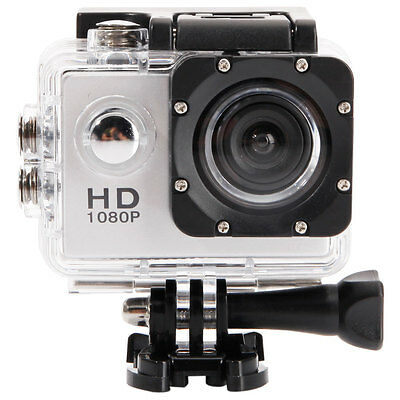 """2.0"""" HD 1080P Sports Waterproof Action Camera Camcorder for SJ4000 Silver"""