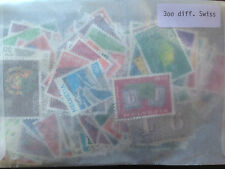 300 Different Switzerland Stamp Collection