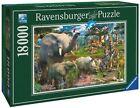 """Ravensburger Puzzle 178230 """"an der Wasserstelle"""" 18000 teile"""