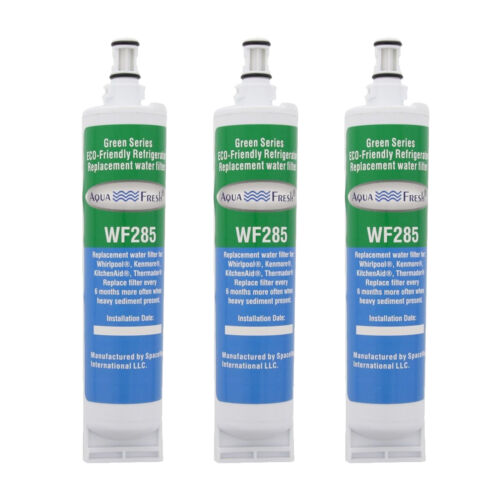 Aqua Fresh Water Filter 3 Pack Fits Whirlpool NL240V Refrigerators