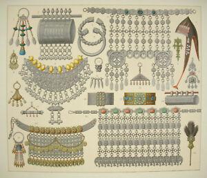 Jewelry-Pendants-Traditional-Arab-Orient-Persian-Islamic-Firmin-Didot-c1888