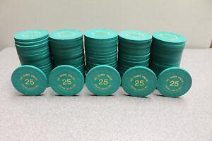 100 Paulson Casino Poker Chips - 1 Rack - Siena, Reno, NV | eBay
