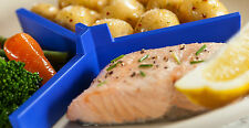 Slimming plate measure for portion control, healthy eating, dieting & worldwide