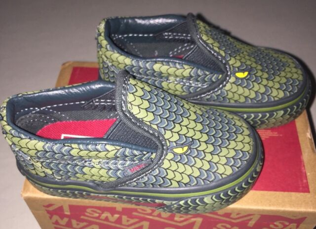 41f40b283dbc Baby Boys VANS Lizard Snake Skate Shoes Size 4 C for sale online