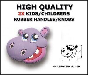 KNOBS HANDLES RUBBER   CHILDREN WARDROBE CABINET CUPBOARD