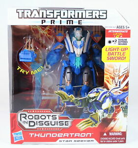 """Transformers Prime - THUNDERTRON - Voyager 7"""" Cybertronian action figure - NEW!"""