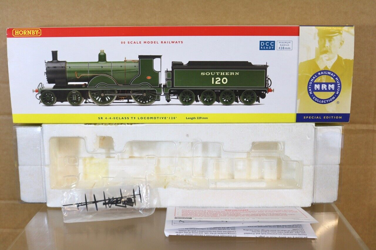 HORNBY R2690 NRM EMPTY BOX for DCC SOUTHERN 4-4-0 CLASS T9 LOCOMOTIVE 120 nr
