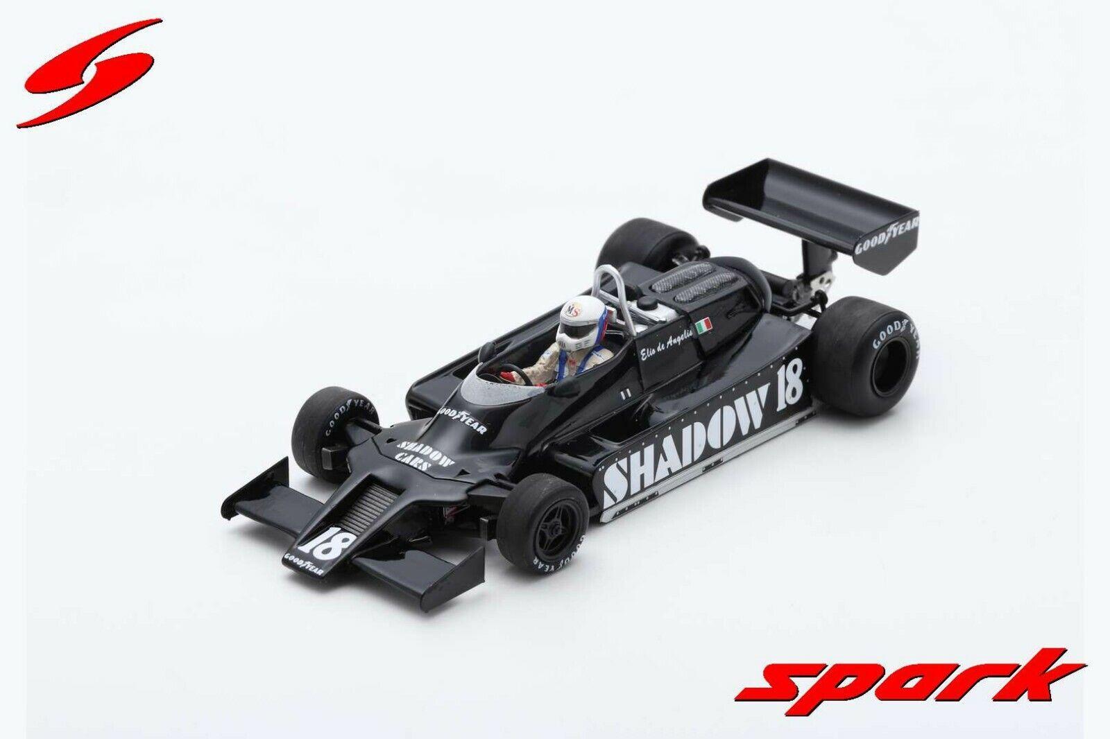 Spark F1 Shadow DN9 Elio de Angelis 1 43 4th Place US GP 1979