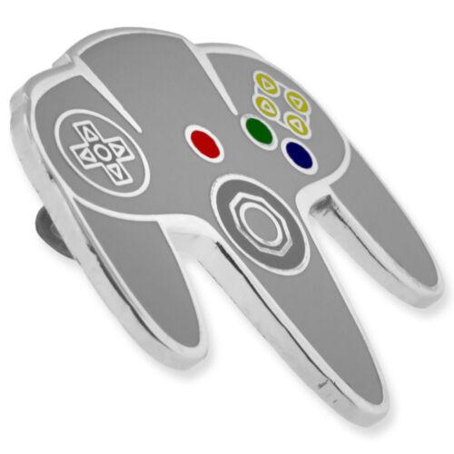 Pinmart/'S ORIGINAL N64 CONTRÔLEUR DE JEU Amoureux Rétro Cool Enamel lapel pin