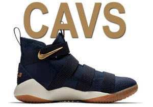 MEN-NIKE-LEBRON-SOLDIER-XI-11-034-CAVS-ALTERNATE-034-BLUE-GOLD-SNEAKER-897644-402-12-5
