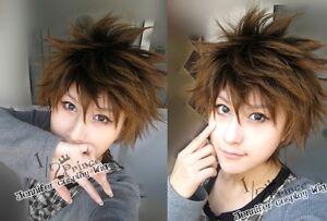 Katekyo Hitman Reborn Chrome Dokuro cosplay wig a01