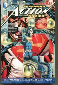 HC Superman Action Comics Volume 3 Three 2013 nm/mint 9.8 1st Hardcover New 52