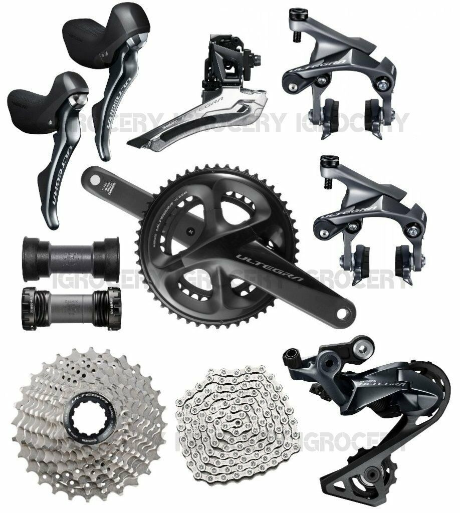 Shimano Ultegra R8000 Groupset Racing Seat Stay R8010 Direct Mount brakes NEW