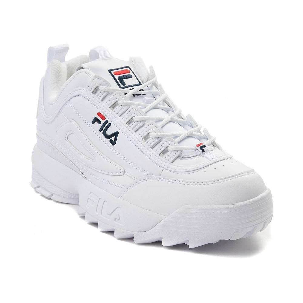 NEW Uomo Fila Fila Fila Disruptor II Premium Athletic scarpe bianca b6673a