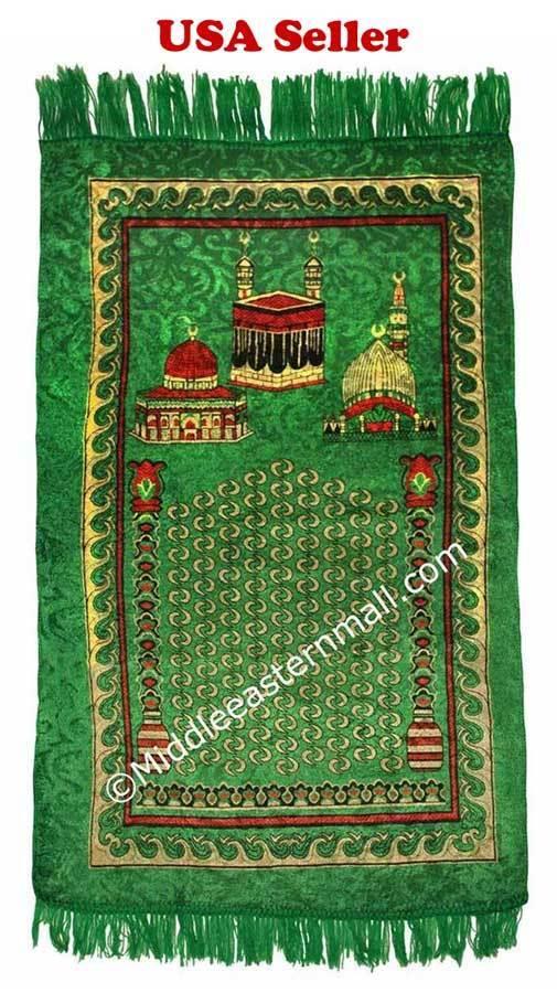Prayer Rug Male Shahadah Kit Thobe Kufi
