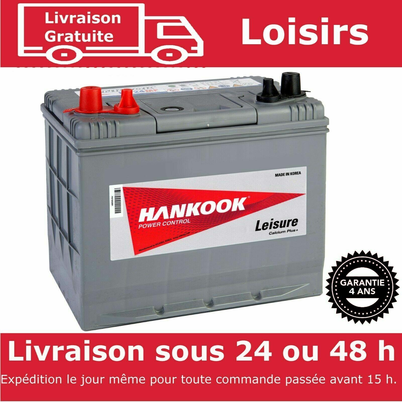 Hankook 2X 130Ah Batterie de Loisirs XL31