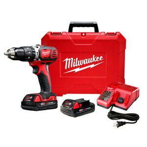 Milwaukee-2606-22CT-M18-18-Volt-Compact-1-2-Inch-Drill-Driver-w-Batteries