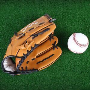 Outdoor Sports Brown Practice Left Hand Softball Equipment Baseball Glove
