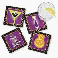 Cardboard Halloween Cocktail Coast 12 Piece