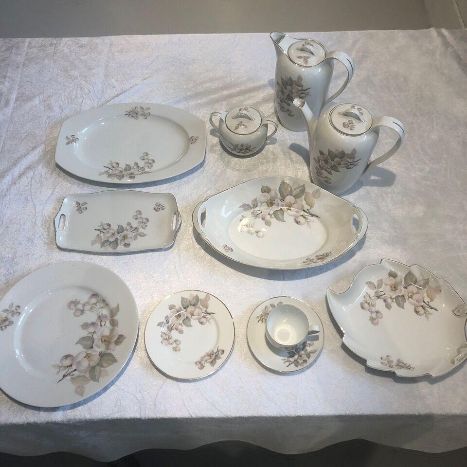 Porcelæn, Fade, kander