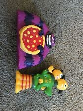 (AH) 2 Disney Monsters University U Inc. Toy PVC Bath Toy Figurines Cake Topper?