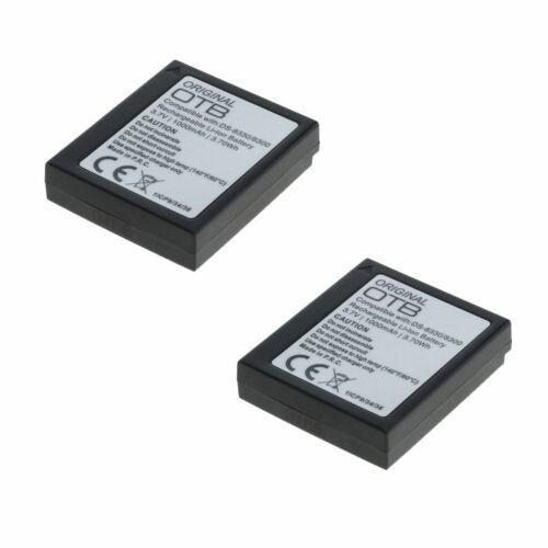 Batería 2x para Aldi Traveler dc-8300//dc-8500//dc-8600//dc-x5//dc-xz6