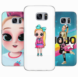 JOJO Siwa Boomerang Top Girl Cute Rubber Phone Cover Case