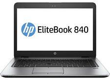 """HP EliteBook 840 G3 14"""" Laptop Intel i5-6300u 2.4 8GB 480GB SSD Windows 10 Pro"""