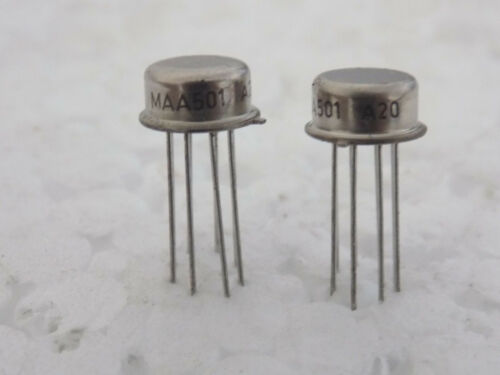 10x Tesla MAA501 uA709CH LM709CH  General-purpose Operational Amplifiers