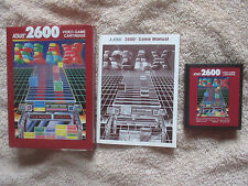KLAX-Completo En Caja-ATARI 2600 JUEGO ATARI 7800