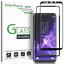 Samsung-Galaxy-S9-protector-de-pantalla-de-vidrio-templado-curvado-amfilm-3D-1-Pack miniatura 1