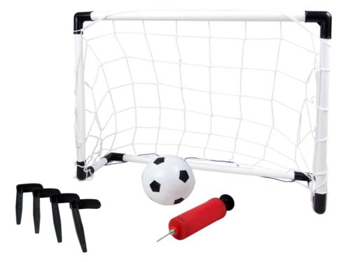 Mini Fußballtor Set Kinder Fußball Spiel mit Ball 61 x 40 x 29 cm Outdoor 8622