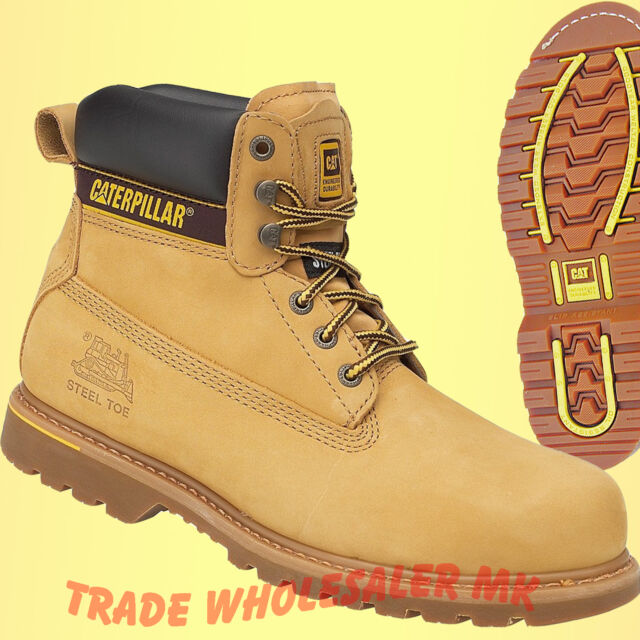 93821cb466f Mens Caterpillar Holton Steel Toe Cap Safety Boots CAT 6