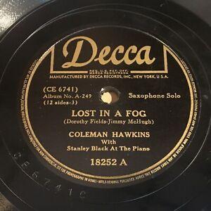 Coleman-Hawkins-Lost-In-A-Fog-I-Ain-039-t-Got-Nobody-78-Decca-18252