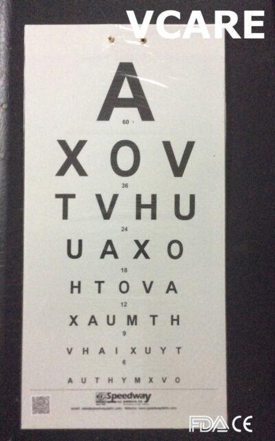 Distant Vision Charts (FDA & CE) Vision Testing Charts