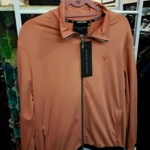 In Orange danneggiata lampo Size M con Top Burnt Zip Color Brand cerniera New zwqnaRRS