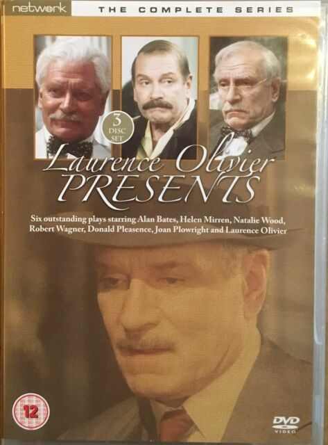 Laurence Olivier Presents (2007) - Complete Series, 6 Plays - Network 3 DVD Set.