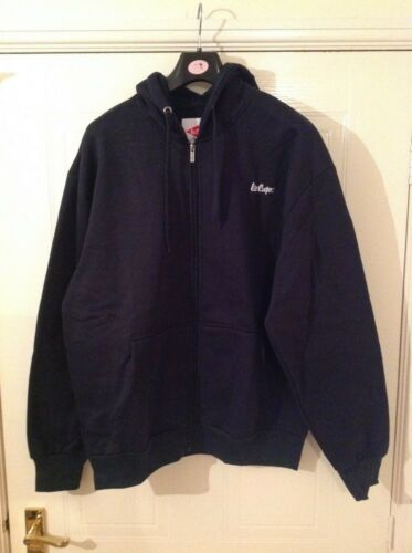 L Sizes Colour Navy M Lee Cooper Full Zip Hoody XL Mens