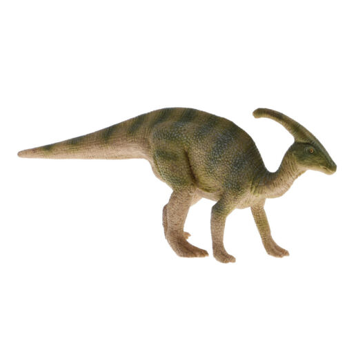 3/'/' Realistic Parasaurolophus Dinosaur Model Figurine Toy Collectibles Green