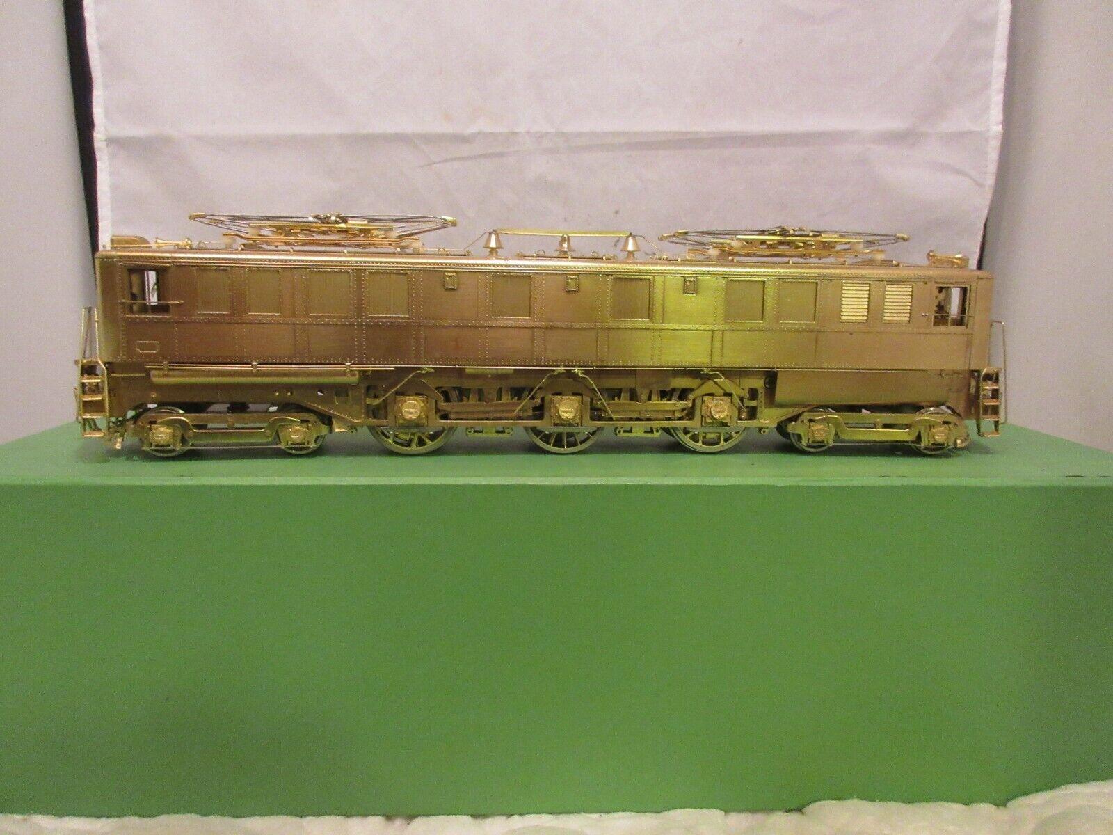OVERLAND Pennsylvania o escala P5A Latón Locomotora Eléctrica