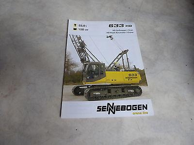 Prospekt Sennebogen Seilbagger/kran 633 Hd In Vielen Stilen Business & Industrie