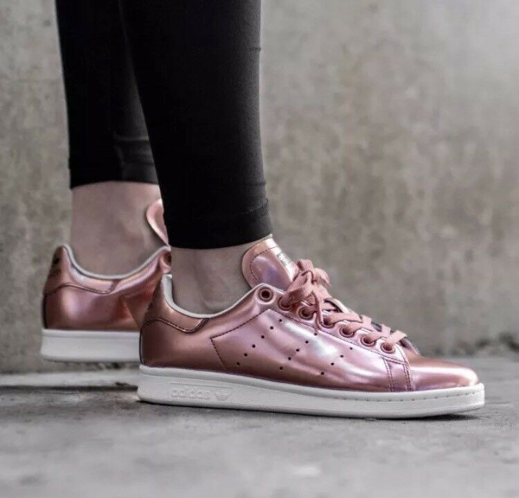 New Adidas Stan Smith Boost Sneaker Sz 9 Women Copper Collector shoes  129 L18