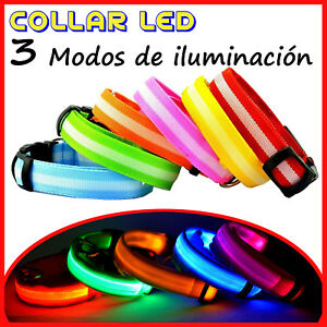 Collar-con-Luz-LED-Ajustable-Luminoso-para-Perro-Mascota-de-Nylon-Seguridad