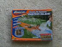 Soak 'n Splash Water Slide 18 Feet Banzai Giant Pool Summer Fun Tunnel Slippery