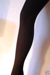 40-Deniers-Collants-Opaque-S-M-L-XL-Noir-Rouge-Violet-Jade-Fuchsia
