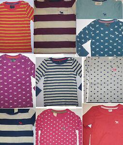 Filles-Mini-Boden-Haut-a-manches-longues-T-shirt-ex-store-age-2-3-4-5-6-7-8-9-10-11-nouvelles