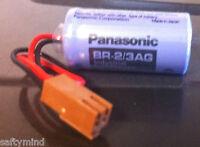 Brand Panasonic Br-2/3ag 3v 2/3a Size Plc Lithium Battery