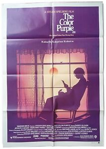 The Color Purple 1 Sheet Original Cinema Movie Poster Ebay