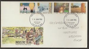 GREAT BRITAIN 1986 INDUSTRY YEAR FDC