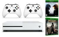 Xbox One S 1TB Console Bundle + Halo 5 + Dead Rising 3 + Extra Wireless Controller